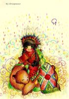 little indian by Lovepeace-S