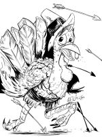 Turkey Trot Inks by KileyBeecher