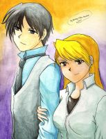 Roy X Riza by Joanther