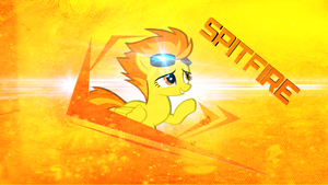 Spitfire background by JoshiePup