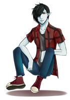 Marshall Lee by vaniaelee