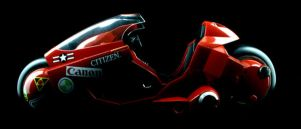 Kaneda's Bike side view by Ixion-TdC