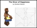 The Giver of Happiness CP (crease pattern) by AbrahamMardini