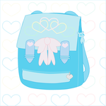 Pastel Baggie Blue by clin0424