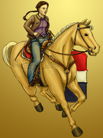 Barrel Racer by MinorTechnicality