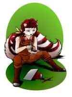 Cilke At Work Streamed Commission by shivaesyke