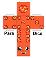 Para-Dice pattern by Lunarcentric