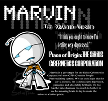Marvin the Robot by SelanPike