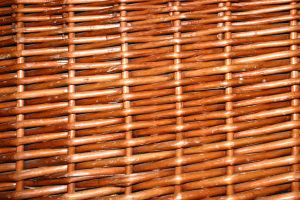 Wicker by waterweed-stock