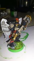 Blood Angels Chaplain by Danhte