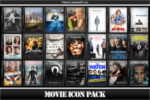 Movie Icon Pack 62 by FirstLine1
