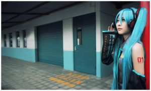 Vocaloid : Hatsune Miku 01 by beethy