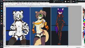 WIPS NL2015 p1 (#240 #241 #242) by McTranceFox