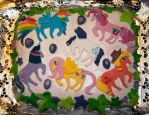 My little pony cake by StellaVD