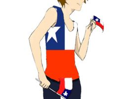 Chile dance dance hetalia oc by xDanix9