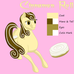 New Cinnamon Roll Reference by Flutterknight