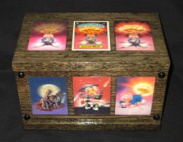 Box 54. Garbage Pail Kids 1. Frontal. by WesleyYoung