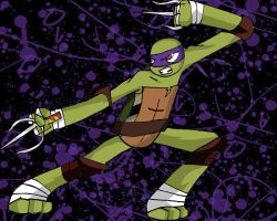 Raph As Donnie by Abn0rma1