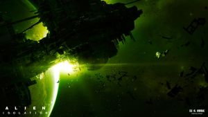 Alien Isolation marketing art by bradwright