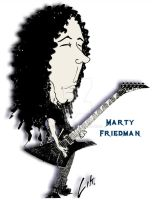 Marty Friedman by lik00