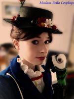 Mary Poppins Cosplay by MasterCyclonis1