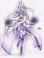 League of Legends - Syndra by MissKilvas