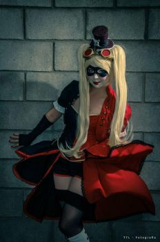 Harley Quinn - Steampunk Cosplay by Thecrystalshoe