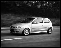 Opel Corsa GSi Driving by Andso