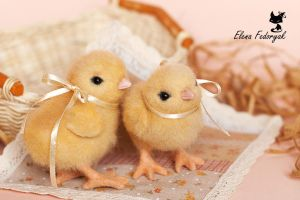 chicken babes :) by KittenBlackUA
