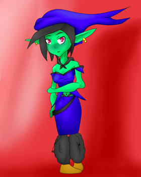 Contest Entry: The Elf by nutkicker18