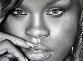 Rihanna 3 by donchild
