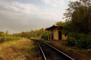 Abandoned  halt by ohlopkov