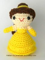 Disney Beauty and the Beast Belle Amigurumi by janageek