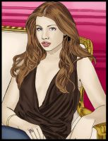 Michelle Trachtenberg by onabedoflies