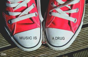 Music is a drug by Miiimzz