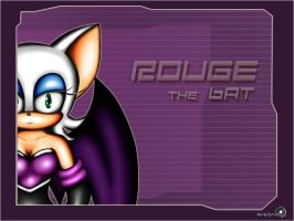 Rouge the bat by Dj-Reverberance