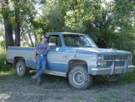 That is me and mah CHEVY by LtLink