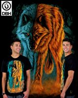 fire and ice Shirt by fathi-dhia