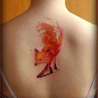 lava fox by finchmeetsfoxface