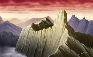 mountain study 1 by bkiani