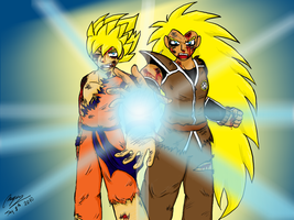 brother kamehameha colored by Ilovevegeta123