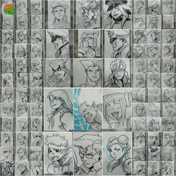 FREE sketches during SDCC2015 by theCHAMBA
