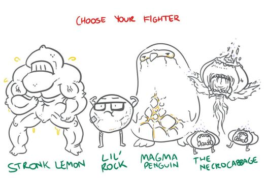 Choose Your Fighter R3-1 by MatthewJWills
