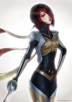 League of Legends: Fiora by Nanahii