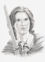 Prince Caspian (signed) by Powerfulwoodelf