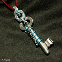 Blue Sling Key by Xenaris