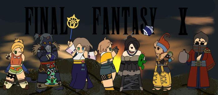 Final Fantasy 10 by teesycreations