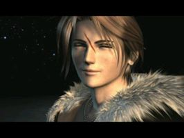 Squall Leonheart Smiling by Spectre0