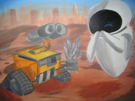 WALL-E by kamui08
