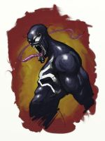 venom speedpaint by turpentine-08